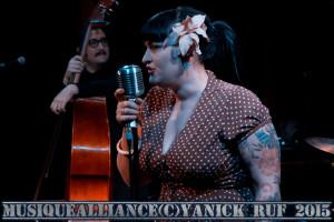 Marilyn & the Rockin' Bombs 27 Mars 2015 Le Korigan (97)-2