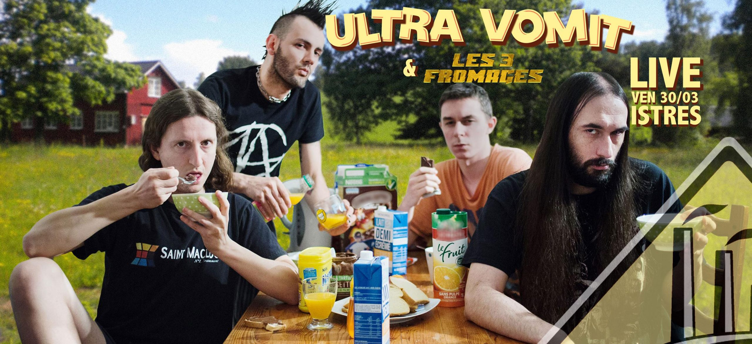 3 fromages Ultra Vomit
